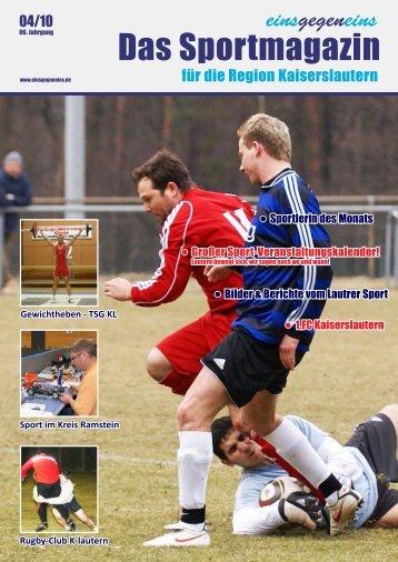 Großer Sport-Veranstaltungskalender! Bilder ... - einsgegeneins