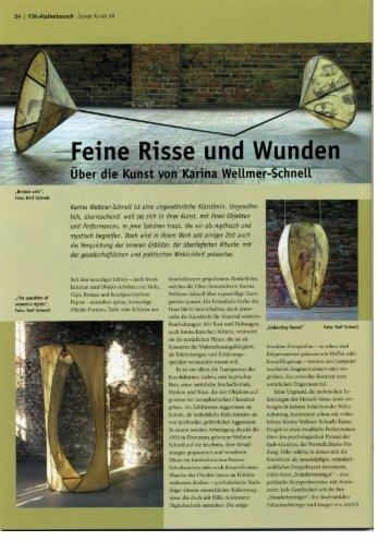 Junge Kunst Nr. 68 - Karina Wellmer-Schnell