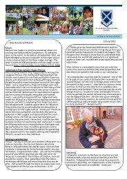 10 July 2012 Newsletter Term 2 - St Andrew's Prep School