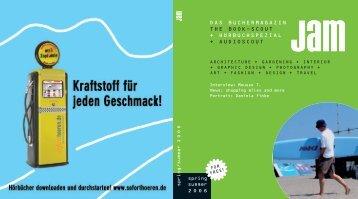 DAS BÜCHERMAGAZIN THE BOOK-SCOUT + ... - JAM-publications