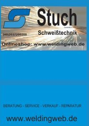 STUCH Schweißtechnik Katalog 2017