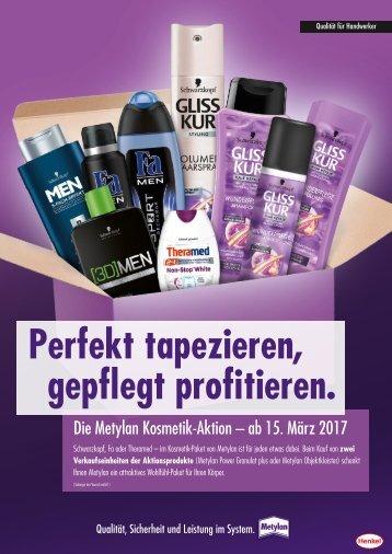 Metylan Kosmetik Aktion_Flyer