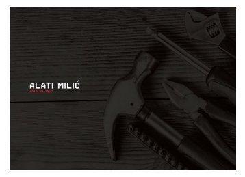 Alati Milic Katalog 2017.