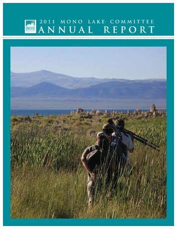 2011 Annual Report for web.indd - Mono Lake Committee