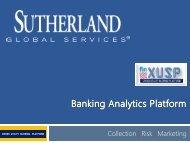 XUSP - Banking Analytics