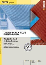 DELTA®-MAXX PLUS Energiesparmembran