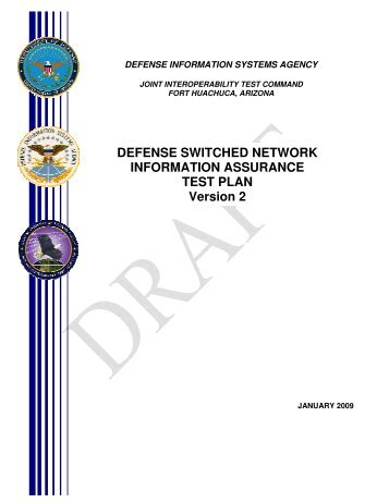 DEFENSE SWITCHED NETWORK INFORMATION ASSURANCE ...