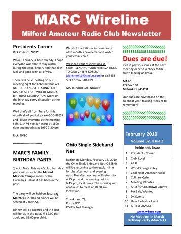 repeater association amateur Milford
