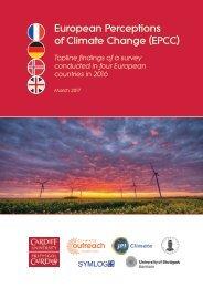 European Perceptions of Climate Change (EPCC)
