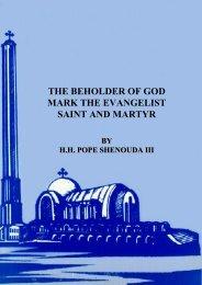 the beholder of god mark the evangelist saint and martyr