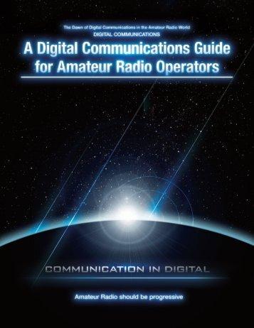 .A Digital Communications Guide _' - Yaesu.com