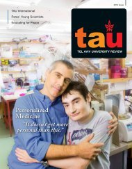 """Personalized Medicine """"It doesn't get more personal than ... - Tau.com"""