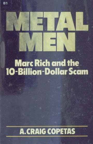 ~ Marc Rich and the ~ ~lO-B'llion-Dollar Scum - Perdana Library