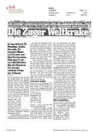 Glencore - Erklärung von Bern