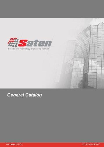 Saten General Catalog 2016