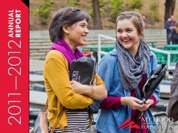 Annual Report - Mt. Hood Community College
