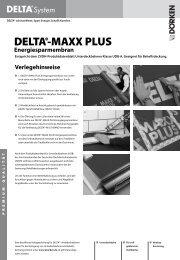 Verlegehinweise und Ausschreibungstexte DELTA®-MAXX PLUS ...