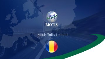 Motis Tolls Presentation March 2017 - RO