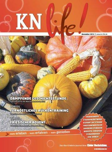Friesischer Advent Fernöstliches rückentrAining ... - KN-life