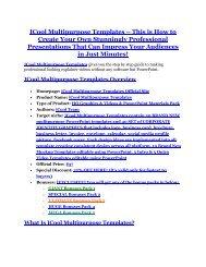 iCool Multipurpose Templates Review and $30000 Bonus - iCool Multipurpose Templates 80% DISCOUNT