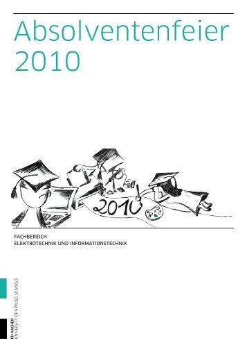 Festschrift 2010 - Alumni Blog - FH Aachen