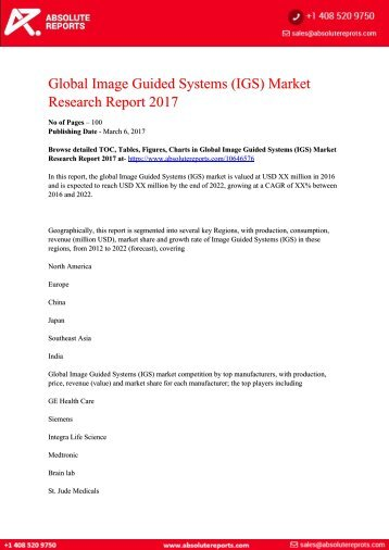 Image-Guided-Systems-IGS-Market-Research-Report-2017