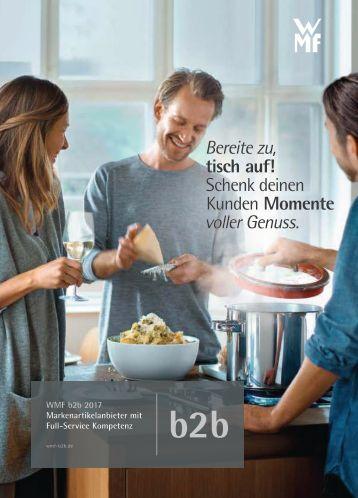 Den Kunden Momente voller Genuss schenken - WMF Werbegeschenke, Werbemittel