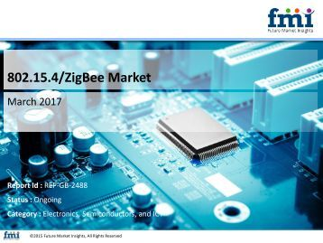 Forecast on 802.15.4/ZigBee Market Global Industry Analysis and Trends till 2026