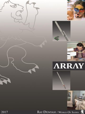 ARRAY Furniture Telescopic Slides