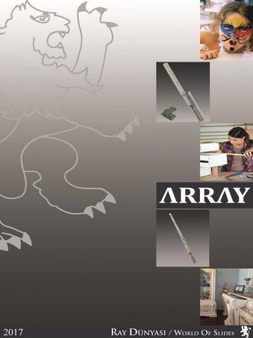 ARRAY Furniture Telescopic Slides