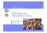 Die wichtigsten Orte in Ghana - Madamfo Ghana