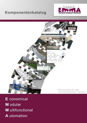 E-M-M-A Komponentenkatalog