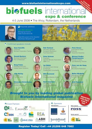 Bro - Biofuels International Expo & Conference