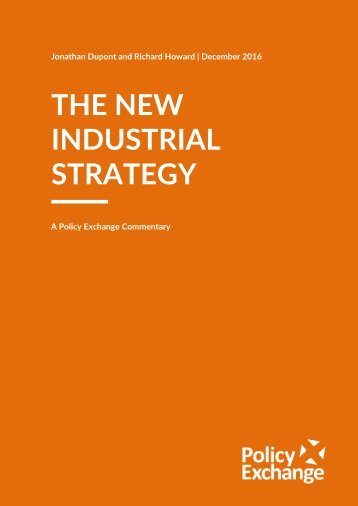 THE NEW INDUSTRIAL STRATEGY