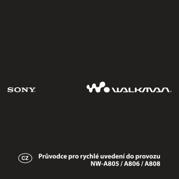 Sony NW-A806 - NW-A806 Istruzioni per l'uso Ceco