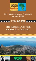 The Judicial Officer of the 21st Century - UIHJ