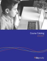 Edgenuity Course Catalog 2016-2017