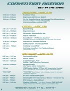2017 Convention Registration packet - DRAFT - Page 2