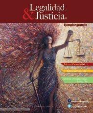 LEGALIDAD & JUSTICIA MARZO ABRIL