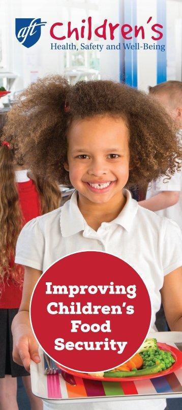 Improving Children's Food Security