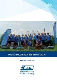 Broschüre - BetonkanuTeam HTWK Leipzig