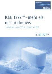 ICEBITZZZ™ – mehr als nur Trockeneis.