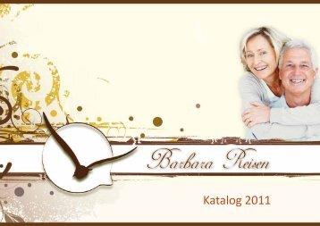 Katalog 2011 - Barbara Reisen