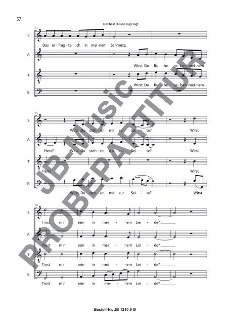 Paderborner Messe (Ausgabe für Gemischten Chor)