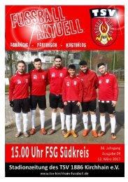12.03.2017 Stadionzeitung FSG Südkreis