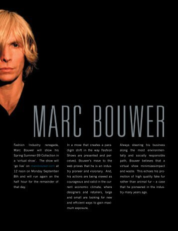 Inspiration - Marc Bouwer