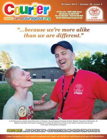 2012 – October - Camp Courageous