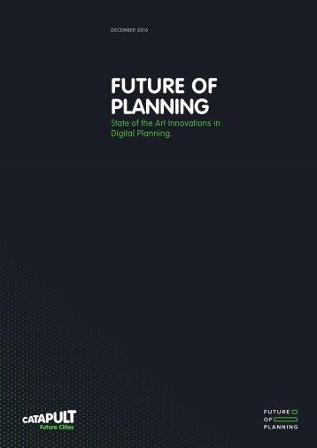 FUTURE OF PLANNING