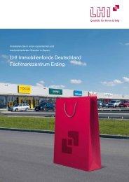 LHI Immobilienfonds Deutschland Fachmarktzentrum Erding - Scope