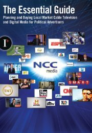 The Essential Guide to Planning and Buying Cable - NCC Media